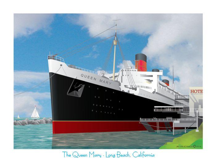The Queen Mary Long Beach